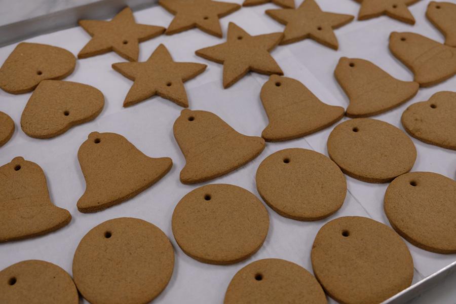 galletas de jengibre del palacio de Buckingham