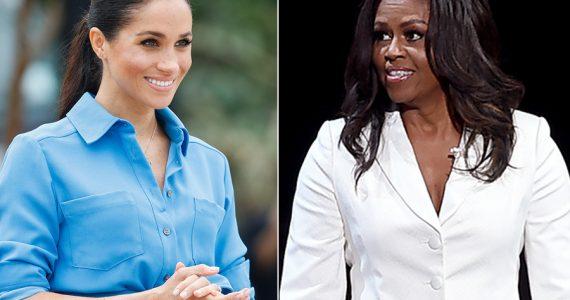 Meghan Markle y Michelle Obama