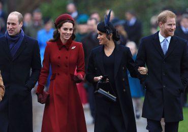 Kate y Meghan en misa de Navidad