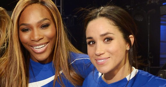 Serena Williams y Meghan Markle