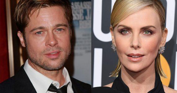 Brad Pitt y Charlize Theron