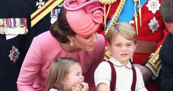 Kate, George y Charlotte