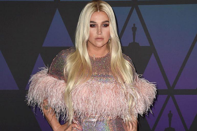 Kesha usa mascarillas para los glúteos