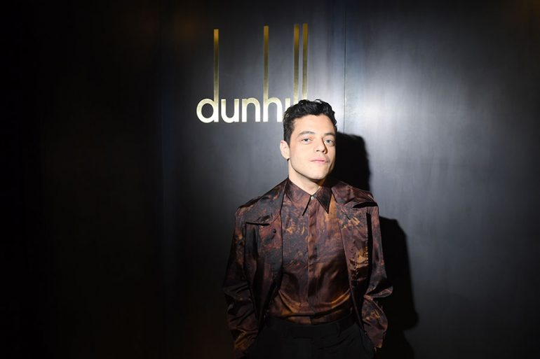 Rami Malek en Paris Fashion Week