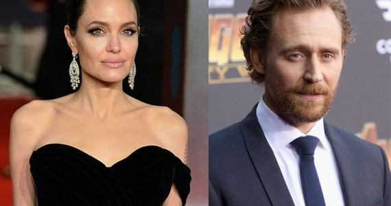 Angelina Jolie y Tom Hiddleston