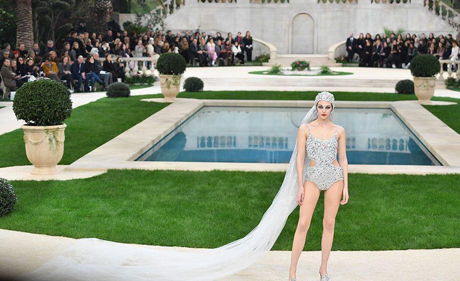Moderna novia de Chanel