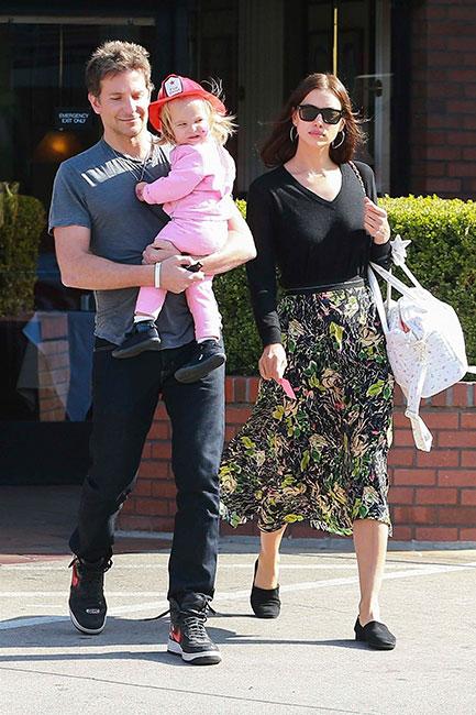 Bradley Cooper, Lea De Seine e Irina Shayk