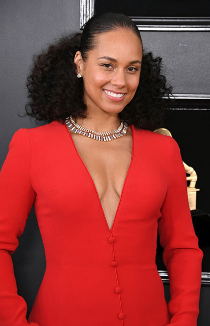 Alicia Keys en el Grammy 2019