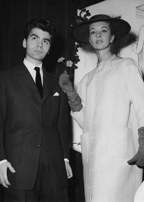 Karl Lagerfeld en 1954