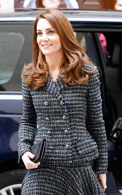 Kate Middleton viste de tweed