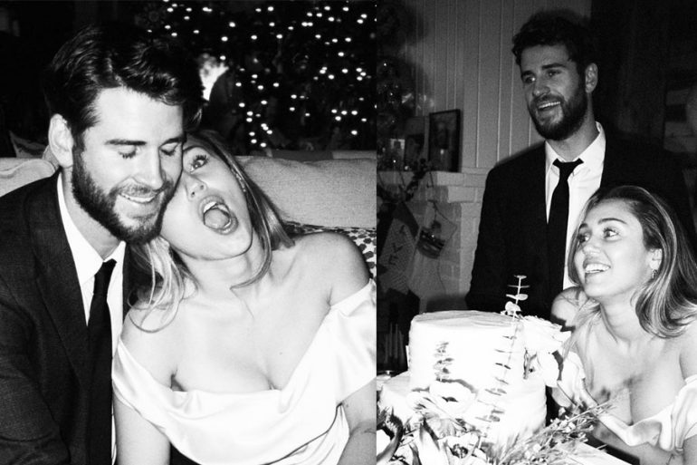 Boda de Liam Hemsworth y Miley Cyrus
