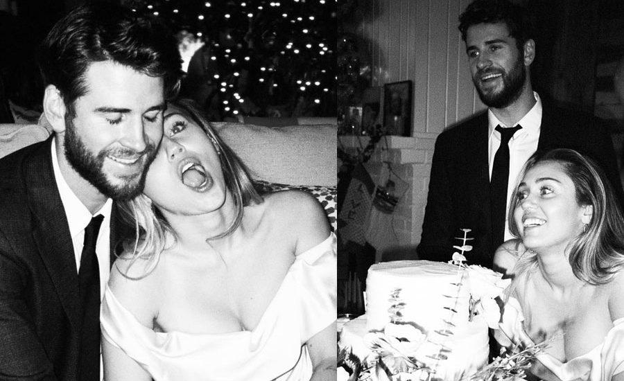 Boda de Liam Hemsworth y Miley Cyrus