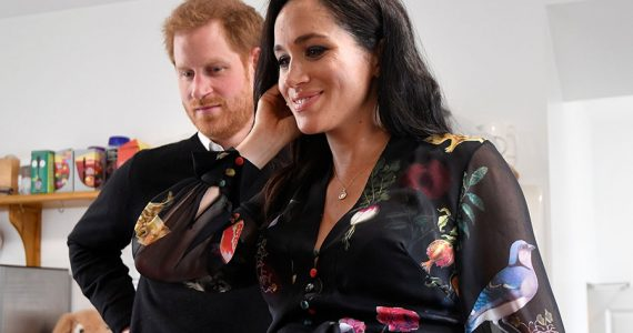 Meghan y Harry en Bristol