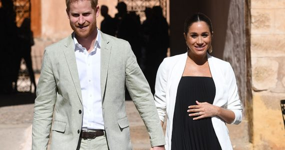 Harry y Meghan en Marruecos