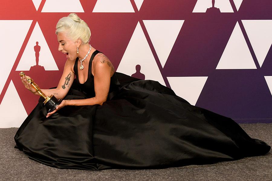 Lady Gaga y su Oscar