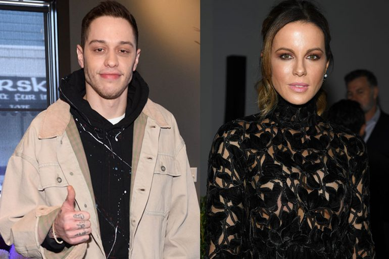 Pete Davidson y Kate Beckinsale