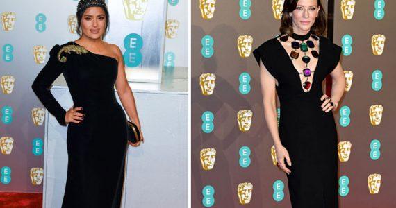 Salma Hayek y Cate Blanchett en los BAFTA