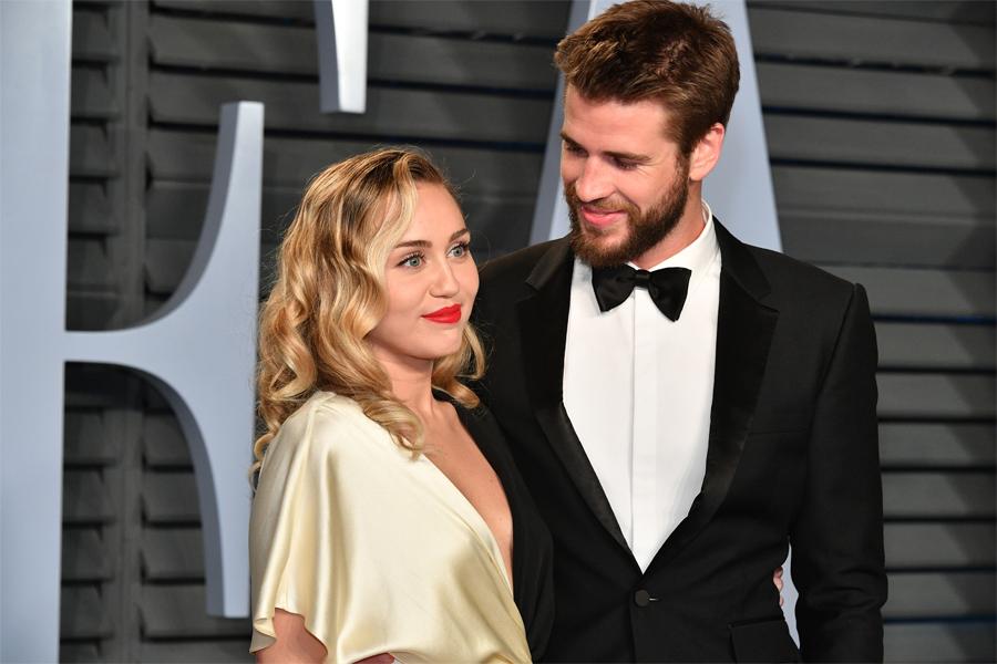 Miley Cyrus y Liam