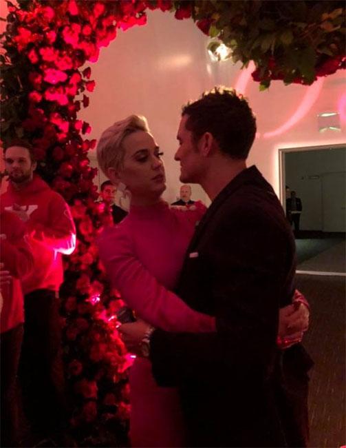Compromiso de Orlando Bloom y Katy Perry