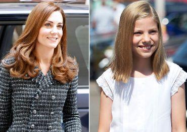 Kate Middleton e infanta Sofía
