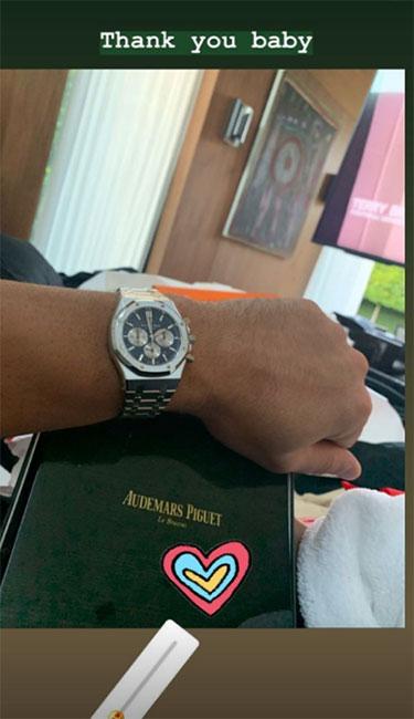 Reloj de Alex Rodríguez