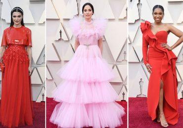 Rojo y rosa en el Oscar