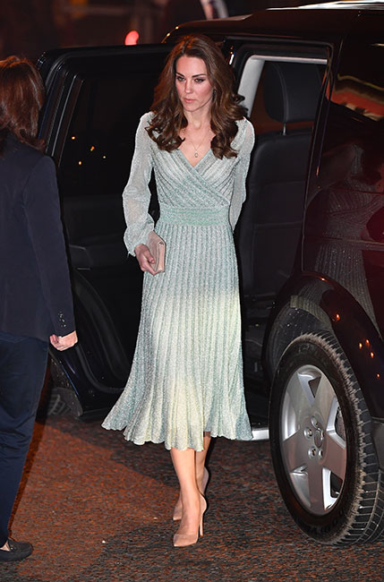 Kate en el Empire Music Hall de Belfast