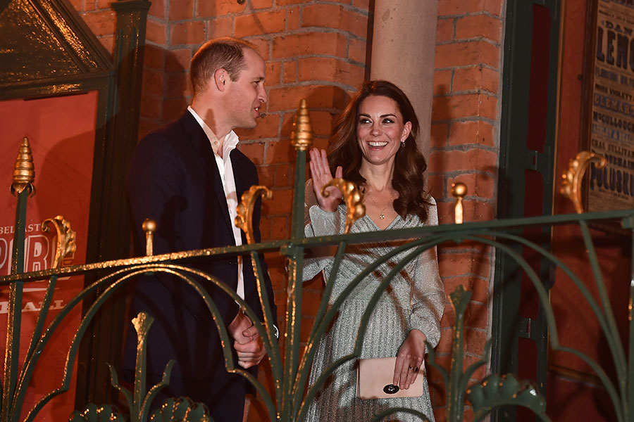 William y Kate en el Empire Music Hall de Belfast