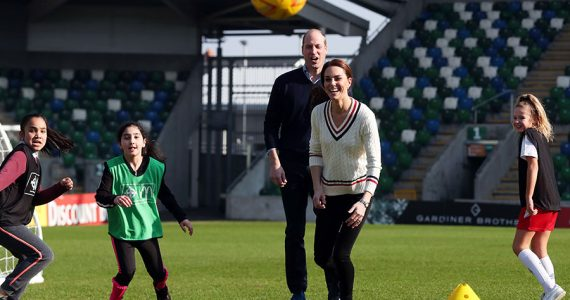 William y Kate en Belfast
