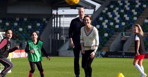 William y Kate en Belfast