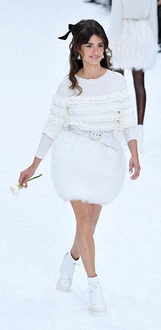 Penélope Cruz para desfile de Chanel