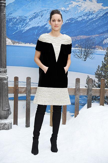Marion Cotillard en desfile de Chanel