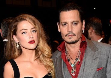 Amber Heard y Johnny Deep