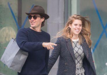 Princesa Beatriz y Edoardo en NY
