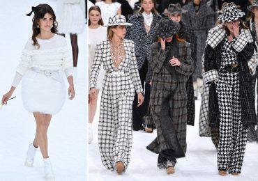 Desfile Chanel y homenaje a Karl Lagerfeld