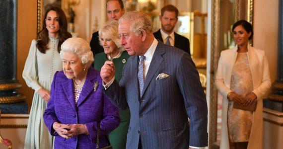 Kate y Meghan en investidura del príncipe Carlos