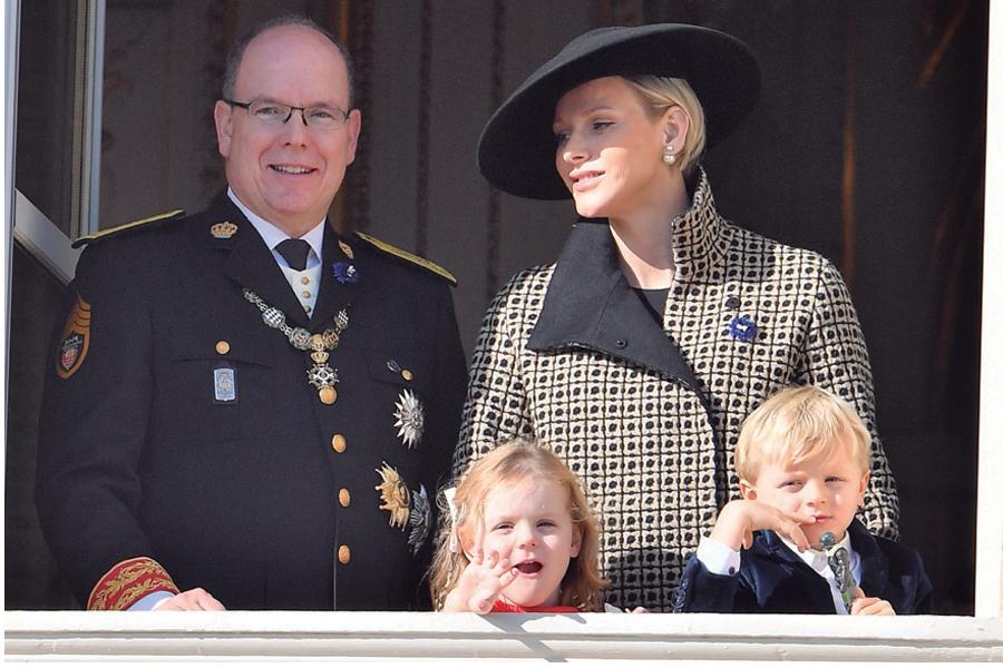 Alberto II y Charlene de Mónaco