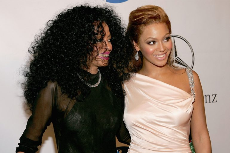 Beyoncé y Diana Ross