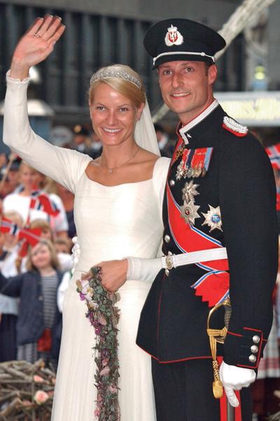 Mette Marit y el Príncipe Haakon