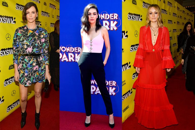 Charlize Theron, Mila Kunis y Olivia Wilde