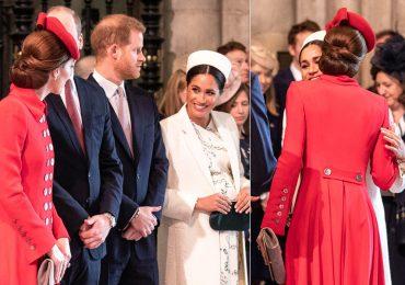 Kate y Meghan en el Día de la Commonwealth