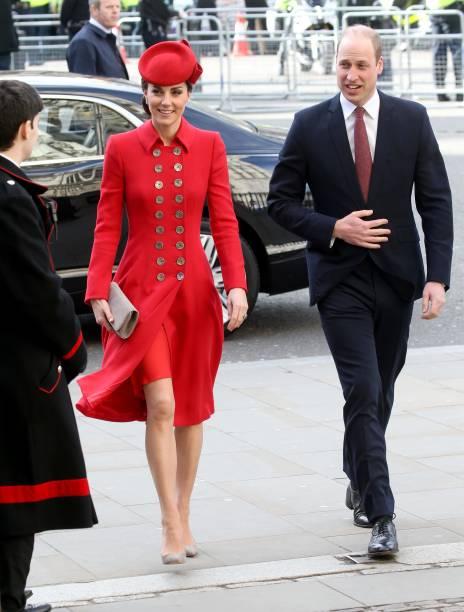 William y Kate en el Día de la Commonwealth