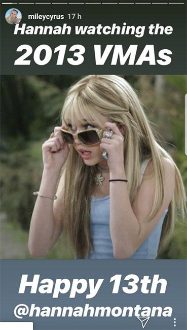 Miley Cyrus como Hanna Mmontana