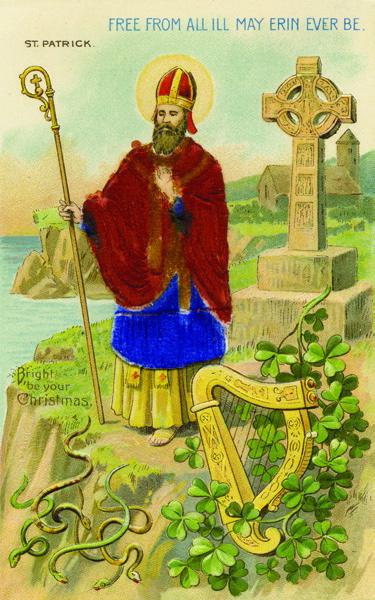 San Patricio y sus tréboles