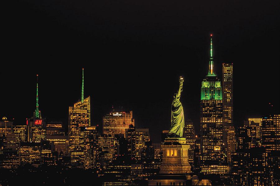 San Patricio en NY