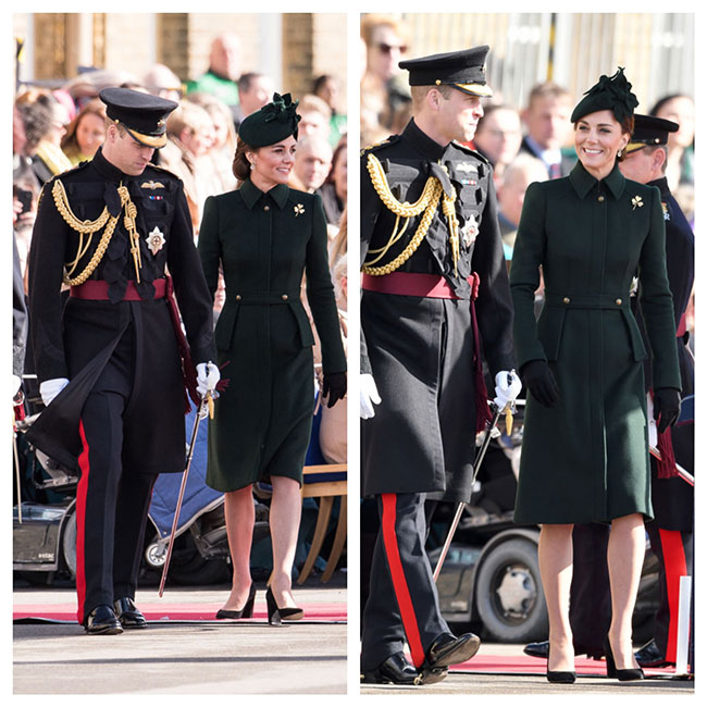 William y Kate en San Patricio