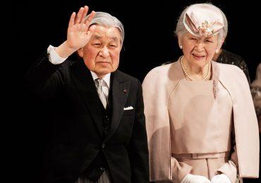 Emperador Akihito y emperatriz Michiko