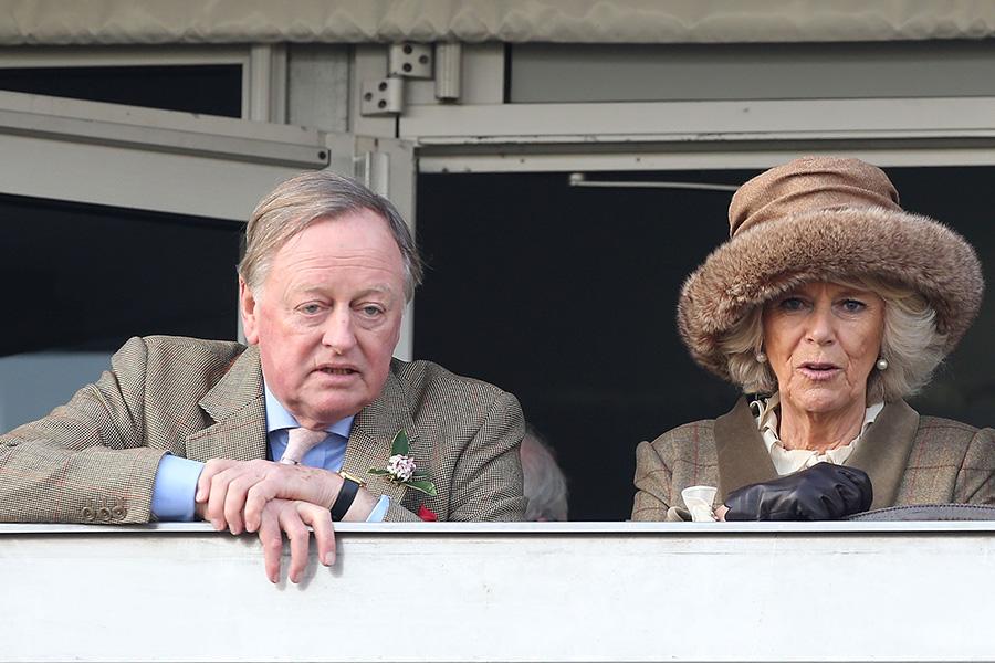 Andrew Parker Bowles y Camilla
