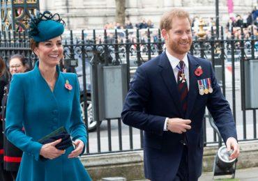 Kate y Harry en el día de ANZAC