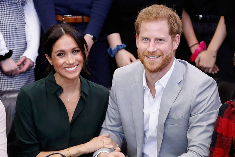 Meghan y príncipe Harry